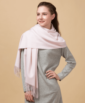 pink cashmere scarf womens