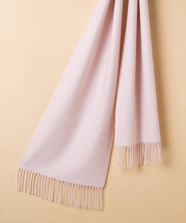 pink 100 Cashmere Scarf