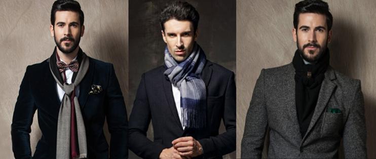 mens cashmere scarves